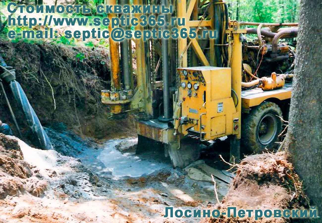 Стоимость скважины Лосино-Петровский Московская область